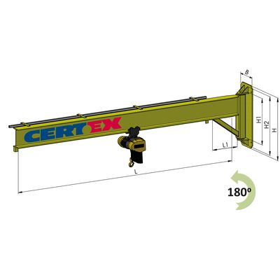 Wall Mounted Jib Crane Type VK-IL
